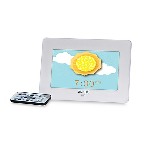 ZAZOO KiDS™ Photo Clock in White