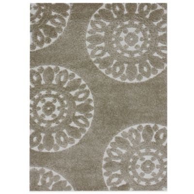 Loloi Rugs Transitional Encore 3-Foot 10-Inch x 5-Foot 7-Inch Area Rug in Beige