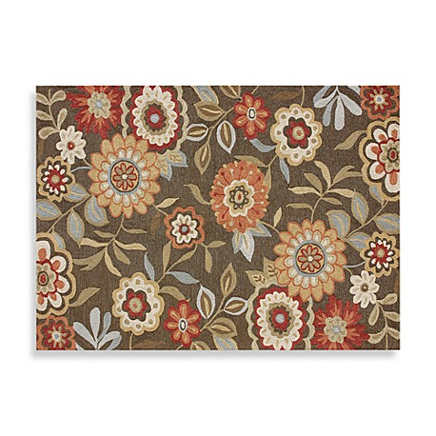 Loloi Rugs Francesca Collection Decorative Rug in Brown