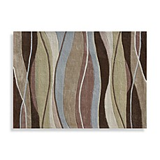 Loloi Rugs Grant Collection Decorative Rug in Olive/Brown