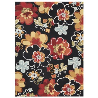 Loloi Rugs Transitional Juliana 3-Foot 6-Inch x 5-Foot 6-Inch Area Rug in Black