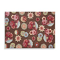 Loloi Rugs Juliana Collection Handcrafted Floral Rug in Brown