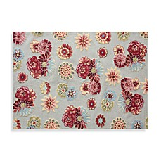 Loloi Rugs Juliana Collection Handcrafted Floral Rug in Cream