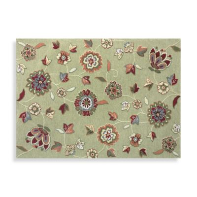 Floral Playroom Rug