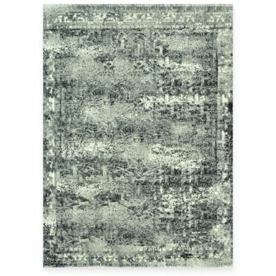The Viera Collection Contemporary Vintage Decorative Rugs in Ash