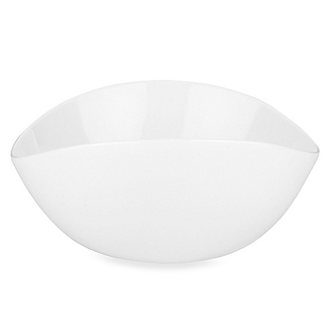 Donna Karan Lenox® Seven Easy Pieces White 10-Ounce Pyramid Bowl