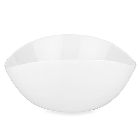 Donna Karan Lenox® Seven Easy Pieces White 7 1/4-Inch Oval Bowl