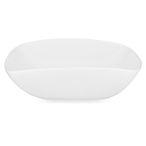 Donna Karan Lenox® Seven Easy Pieces White 7 3/4-Inch Square Bowl