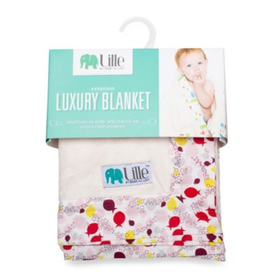 Bebe au Lait® Lille Fishies Everyday Luxury Girl's Blanket