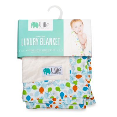 Bebe au Lait® Lille Fishies Everyday Luxury Boy's Blanket