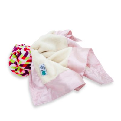 Bebe au Lait® Lille Throw Blankie in Waves for Girls