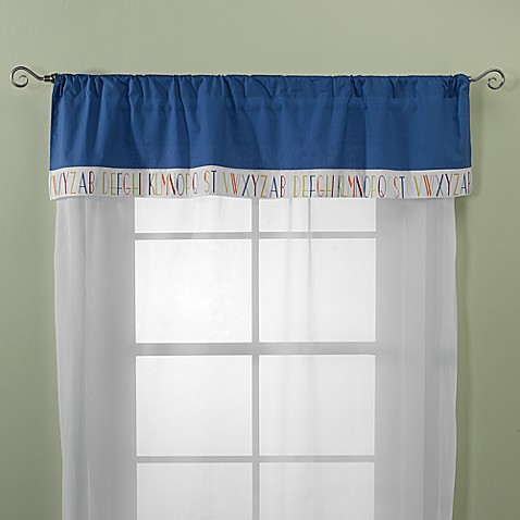 Go Mama Go Designs A is for Alien Window Valance