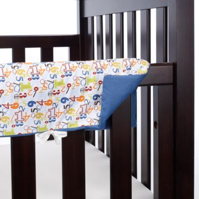 Go Mama Go Designs A is for Alien 52-Inch x 12-Inch Teething Guard