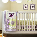 Pam Grace Creations Lavender Butterfly 10-Piece Crib Bedding Set