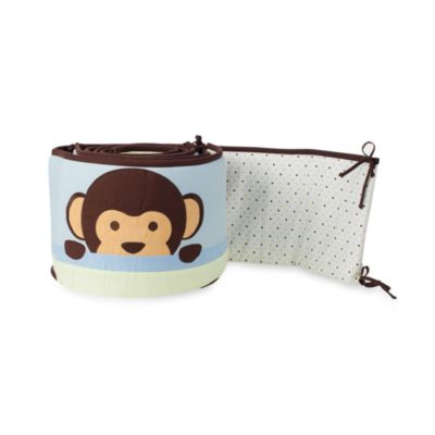 Pam Grace Creations Maddox Monkey Crib Bumper