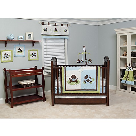 Pam Grace Creations Mr. & Mrs. Pond 10-Piece Crib Bedding Set