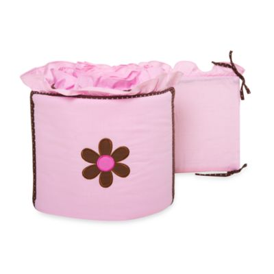 Pam Grace Creations Pam's Petals 4-Piece Crib Bumper