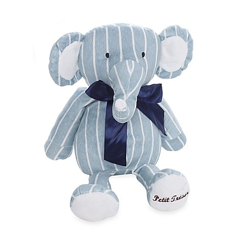 Petit Tresor Happy Animals Elephant Plush