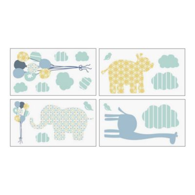 Petit Tresor Happy Animals Wall Appliques