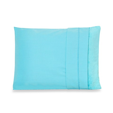 My First Memory Foam Toddler Pillowcase in Soft Blue