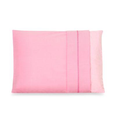 Soft Pink Toddler Pillowcase