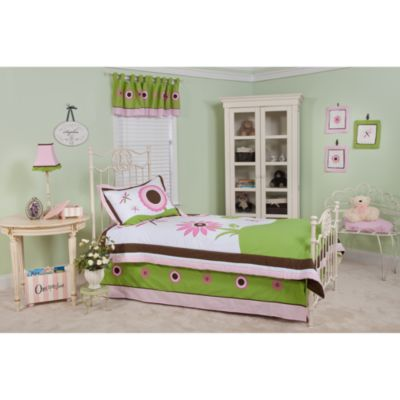 Pam Grace Creations Sophia's Garden Twin Bedding Set