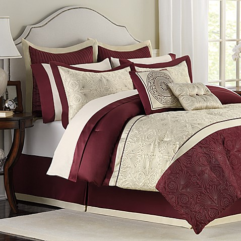 Trevi 12-Piece Full Bedding Superset