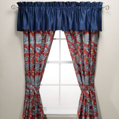 Nautica® Tisbury Designer Pintucked Window Valance