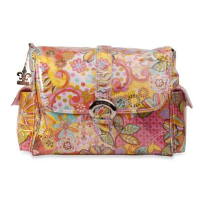 Kalencom Single Buckle Laminated Diaper Bag in Arabella