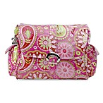 Kalencom Single Buckle Laminated Diaper Bag in Gypsy Paisley Cotton Candy