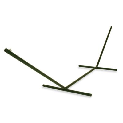 The Hammock Source Tri-Beam Steel Hammock Stand in Green