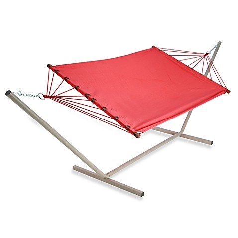Castaway Small Hammock And Stand Set Coral Bed Bath