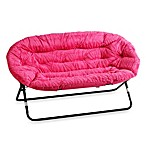 Idea Nova Double Saucer Chair in Pink Zebra
