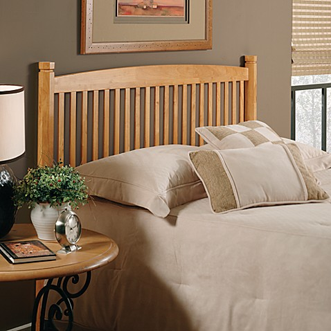 Hillsdale Oak Tree Twin Headboard with Rails