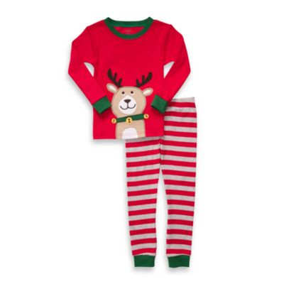 Carter's® Reindeer Red & Grey 2-Piece PJs