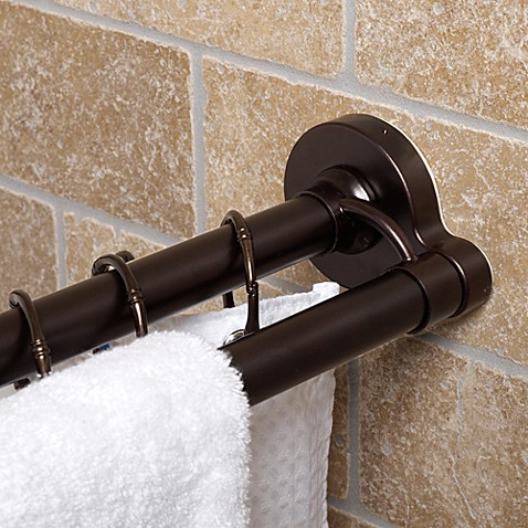 Buy Double Shower Rod from Bed Bath & Beyond