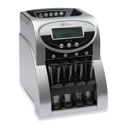 Royal Sovereign Fast Sort 2-Row Digital Coin Sorter