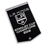 Los Angeles Kings 2012 Stanley Cup Championship Banner