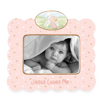 Jesus Loves Me in Girl Frame