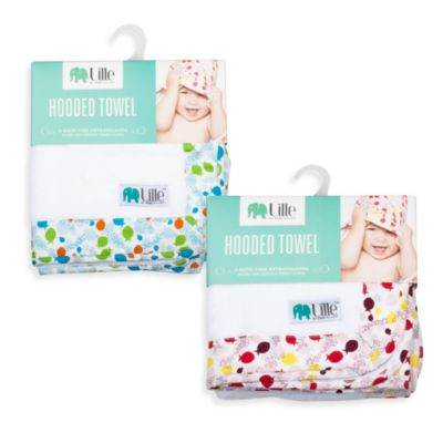 Bebe au Lait® Lille™ Fishies Hooded Towel