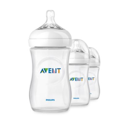 Phillips AVENT Natural 3-Pack 9 oz. Bottles