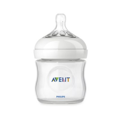 Avent Natural 4-Ounce Glass Bottle