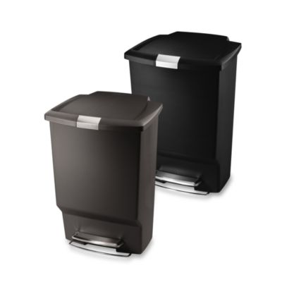 simplehuman® Rectangle 45-Liter/12-Gallon Step Trash Cans