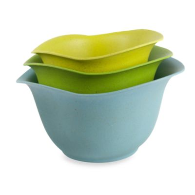 architec Eco Smart Purelast™ 3-Piece Mixing Bowl Set