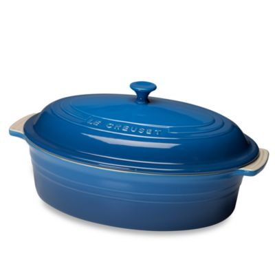 Le Creuset® 5 3/4-Quart Covered Oval Casserole in Marseille