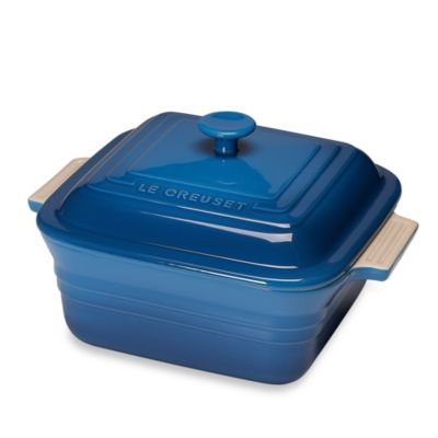 Le Creuset® Heritage 3-Quart Covered Square Casserole in Marseille