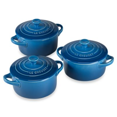Le Creuset® Mini Cocottes in Marseille (Set of 3)
