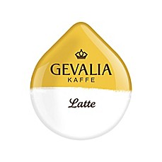 Gevalia 16-Count Latte T DISCs for Tassimo™ Beverage System