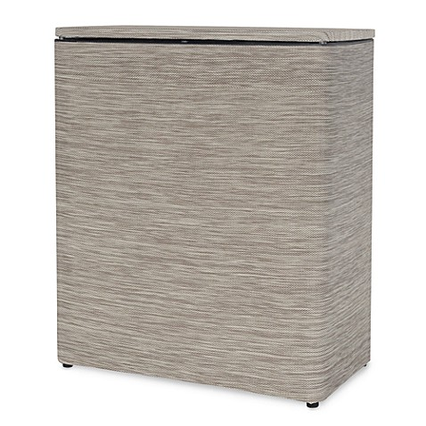 Lamont Home™ Cambria Upright Hamper in Sage/Brown