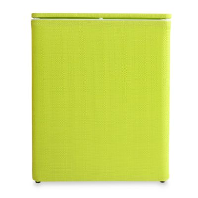 Lamont Home™ Brights Upright Hamper in Lime